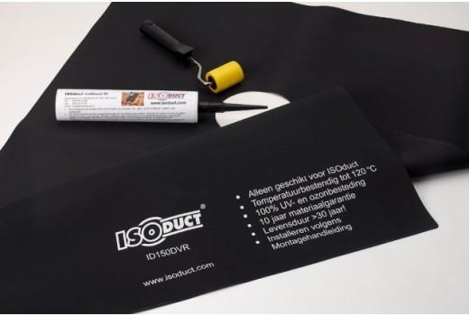 Isoduct dakdoorvoer rubber